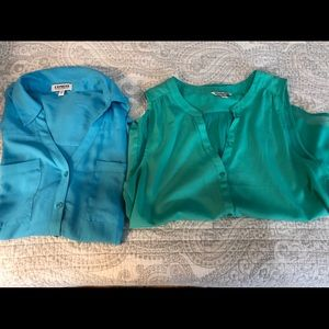 Lot of 2 Women's shirts-American Eagle, Express